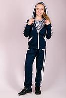 Детский спортивный костюм Лампас (синий)
