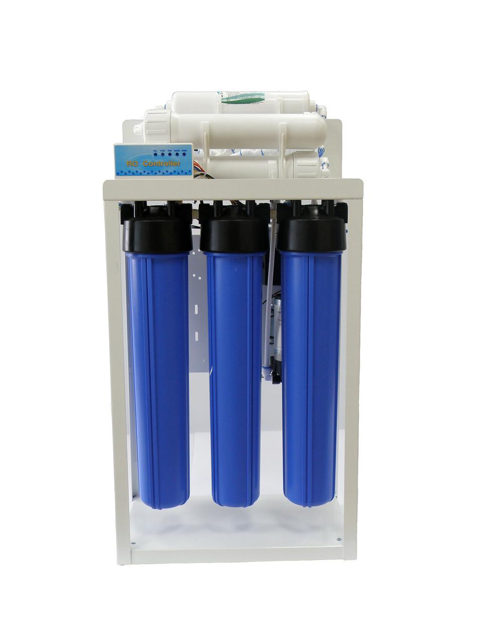 Фильтр для более чем 10 человек Aqualine RO-600 (без накопительного бака)