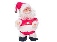Дед мороз муз., бегает,18 см. в кор.