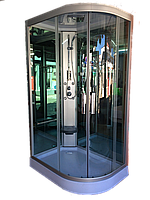 Гидромассажный бокс с низким поддоном Diamond A-302 L