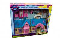 """Кукольный дом TM628 """"Petshop"""" с героями,мебелью кор.34,5*8*30 /42/"""