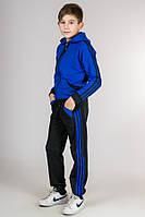 Детский спортивный костюм Комби-лампас (электрик), фото 1