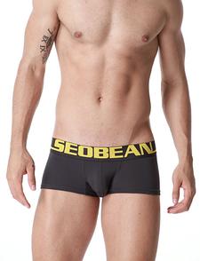 Мужские трусы боксеры тено-серого цвета Seobean. Код:SB15