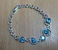 """Шикарный  браслет с неоновыми апатитами  """"Сатурн"""" от студии LadyStyle.Biz, фото 1"""