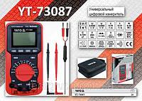 Мультиметр цифровой 4-х разрядный 10А-600V., YATO YT-73087
