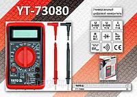 Мультиметр цифровой, 4 разряда, V, A, Ω,  AC, DC, hFE,  YATO  YT-73080