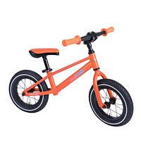 "Беговел 12"" Kiddi Moto Mountain матовый оранжевый"