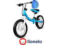 Велосипед детский беговой LIONELO DAN + каска