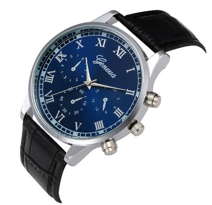 Стильные кварцевые часы, фото 2
