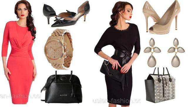 Деловая мода. Модные деловые офисные платья 2014.