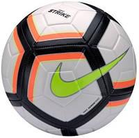 Детский футбольный мяч Nike Strike 2018 White Red SC3176-101