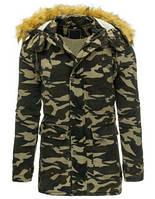 Мужская утепленная куртка (ПАРКА tx1501)