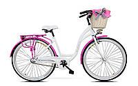 Велосипед женский городской прогулочный Goetze BLUEBERRY 28 Польша