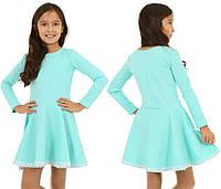 Платье для девочки с романтическим кружевом