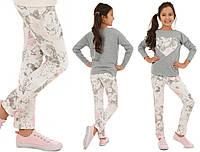Цветные брюки, трубы, трегинсы для девочек