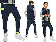 Спортивные штаны мешковатые, уменьшенный шаг 158