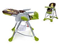 Детское кресло для кормления шезлонг