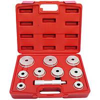 Комплект оправок для установки подшипников и сальников универсальный (10 ед) HESHITOOLS HS-E2010