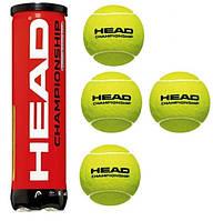 Мячи для большого тенниса HEAD CHAMPIONSHIP (4 ШТ)