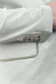 Пиджак светлый летний №158F008 (Оливковый)