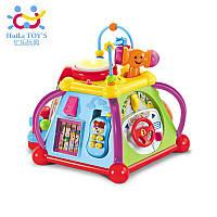 Интерактивный образовательный кубик для маленьких детей