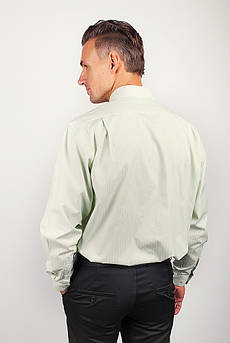 Рубашка мужская классическая Fra №877-6 (Светло-оливковый)