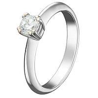 Золотое кольцо Мариша с бриллиантом 000040999