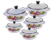 Набор эмалированной посуды KingHoff 3714 KH KINGHOFF 10 предметов