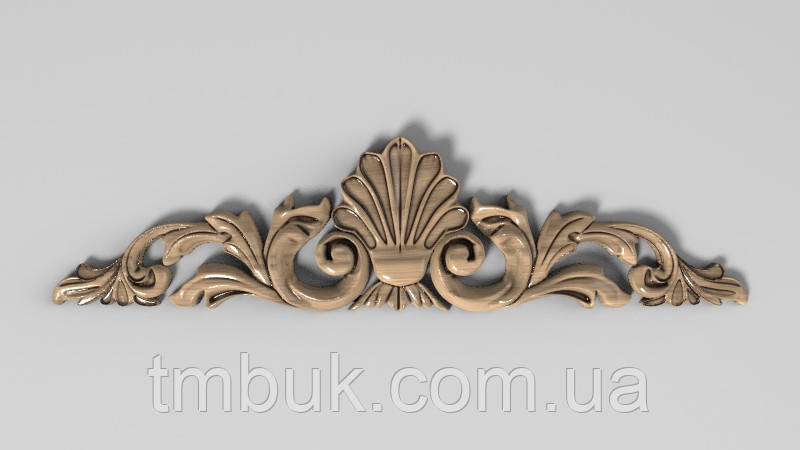 Горизонтальный декор 63 для мебели - 200х50 мм