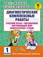 Диагностические комплексные работы. Русский язык. Математика. Окружающий мир. Литературное чтение. 1