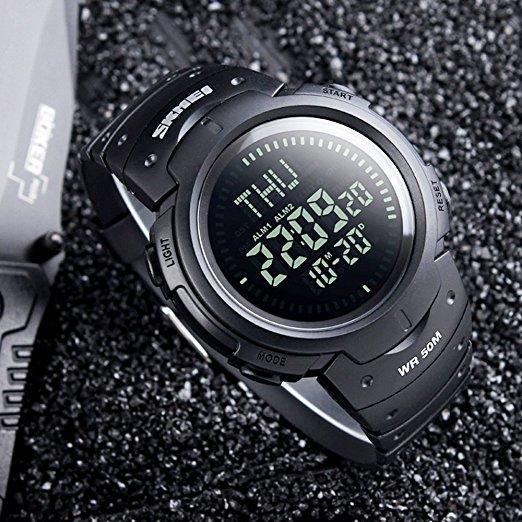 Тактичний годинник з компасом BLACK - Tacmarket в Украинке 8959cd8103492