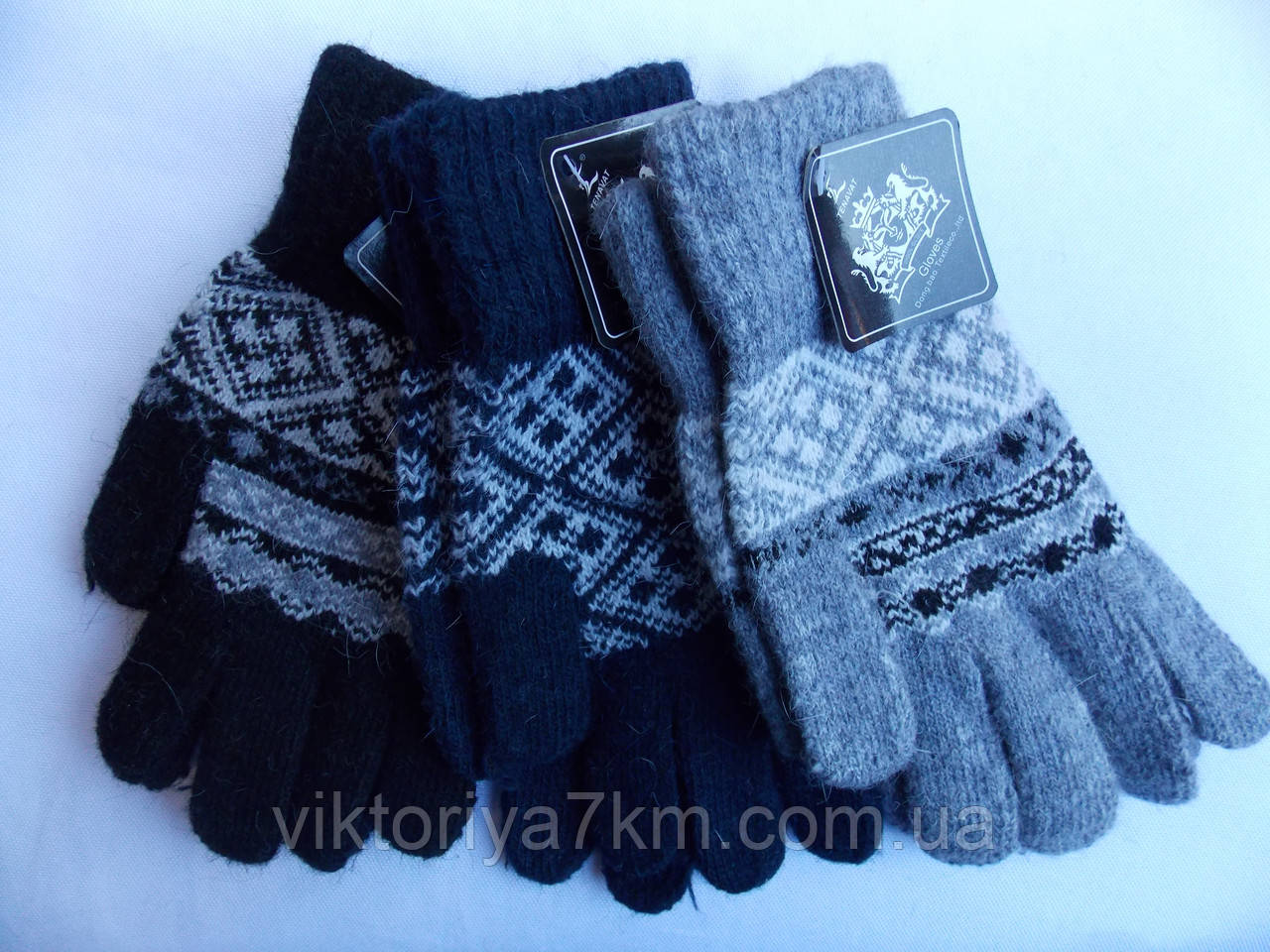 """Перчатки женские шерстяные """"Gippi"""" RS1-176"""