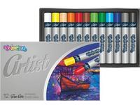 Набор пастели масляной 12 цветов, Artist