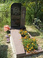 Надгробные композиции из коричневого гранита