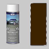 Спрей-краска металлик Mixon Spray Metallic. Золотой лист 331 400 мл.