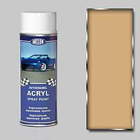 Акриловая аэрозольная краска для авто Mixon Spray Acryl. Бежевая 235