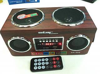 Портативная MP3 колонка SR-806 USB Радио АКЦИЯ !!!