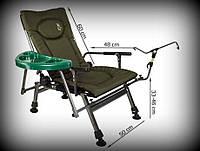 Кресло рыболовное со столиком Elektrostatyk F5R ST/P