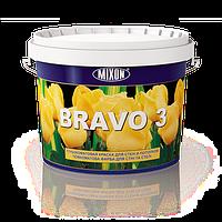Глубокоматовая латексная краска для стен и потолков Bravo 3. 5л