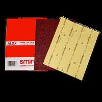 Листовая наждачная бумага для мокрой и сухой шлифовки Smirdex Alox (275). 230 х 280мм. Зерно 60