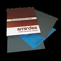 Листовая наждачная бумага для мокрой шлифовки Smirdex Alox (270). 230 х 280мм. Зерно 60