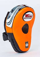 Лапа изогнутая кожаная TWINS SPECIAL TW-PML-10-OR-BK оранжевый-черный(оригинал)