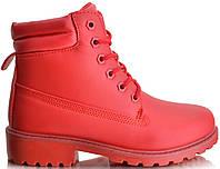 Ботинки TIMBERKI BL81 Ботильоны Красные