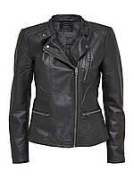 Куртка черная кожаная ramoneska ONLY BIKER r S