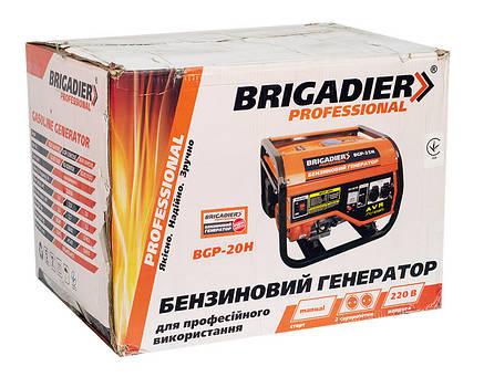 Бензогенератор Brigadier Professional BGP-30Н, 3.0 кВт, фото 2