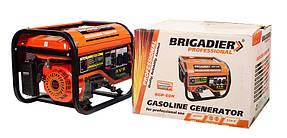 Бензиновый генератор Brigadier Professional BGP-60H, 6.0 кВт.Ручной старт., фото 2