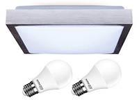 Подвесной светильник / люстра + + 2x светодиодные лампы E27 10Вт NW Польша