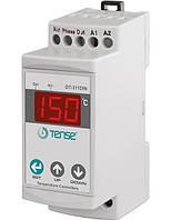 Терморегулятор на DIN рейку электронный термостат на дин двухуровненвый двухканальный от -50 до +150 градусов, фото 1