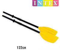 Весла пластиковые для лодок Intex 59623 (122 см.)