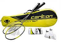 Набор комплект ракеток для бадминтона CARLTON POWERBLADE RALLY SET